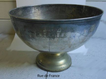 ANTIQUE VINTAGE FRENCH CHAMPAGNE ITEMS - MOET WINE BUCKETS ETC
