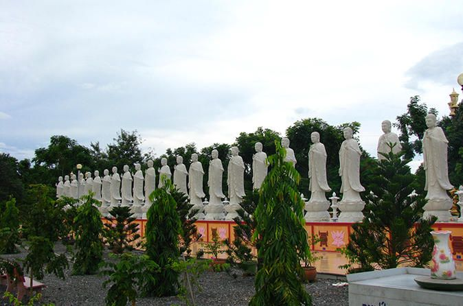 Full day tour: Discover Vung Tau City from Ho Chi Minh City Enjoy some fun in the sun and delicious fresh seafood on this day-trip to the popular seaside resort of Vung Tau, just a three hour drive from Ho Chi Minh City.A three-hour drive will take you to Vung Tau, where you can relax and enjoy some fun under the sun. Vung Tau is one of the most popular seaside resorts in Viet Nam, with golden sandy beaches and transparent warm blue water all year round. Vung Tau also offers s...