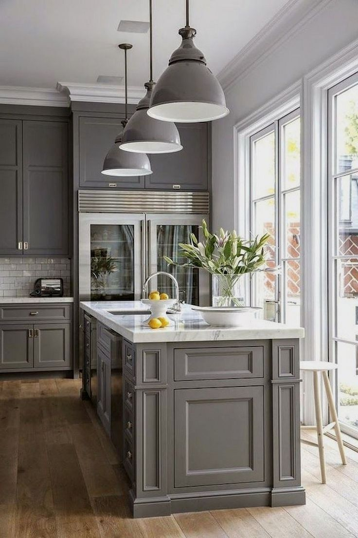 If You Examine The White Kitchen Cabinet Photographs And Movies Being Exhibited At The Sites O Kitchen Cabinet Design Grey Kitchen Designs New Kitchen Cabinets