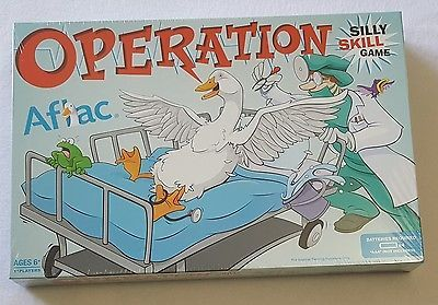 Hasbro AFLAC Insurance Co OPERATION BOARD GAME Advertising Promo Sealed HTF