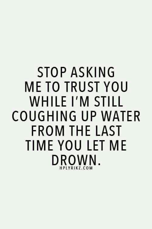 Stop asking....