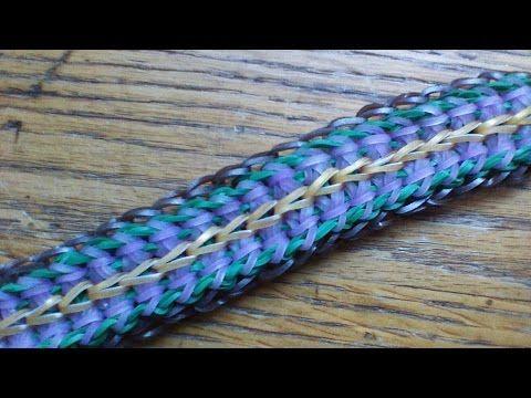 """My New """"Double Jeopardy"""" Rainbow Loom Bracelet/How To Tutorial - YouTube"""