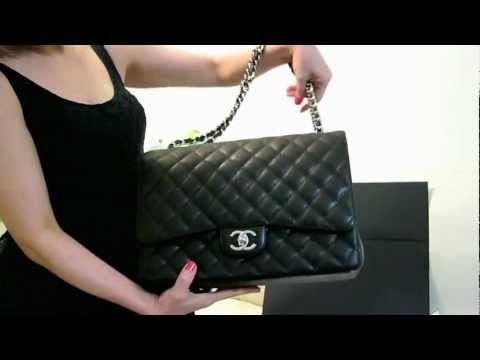 Chanel Classic Jumbo Maxi Caviar