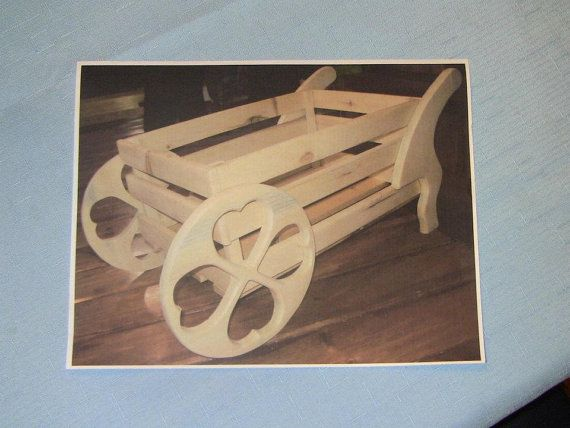 Flower planter unfinished pine wood great by CanadianWoodenCrafts