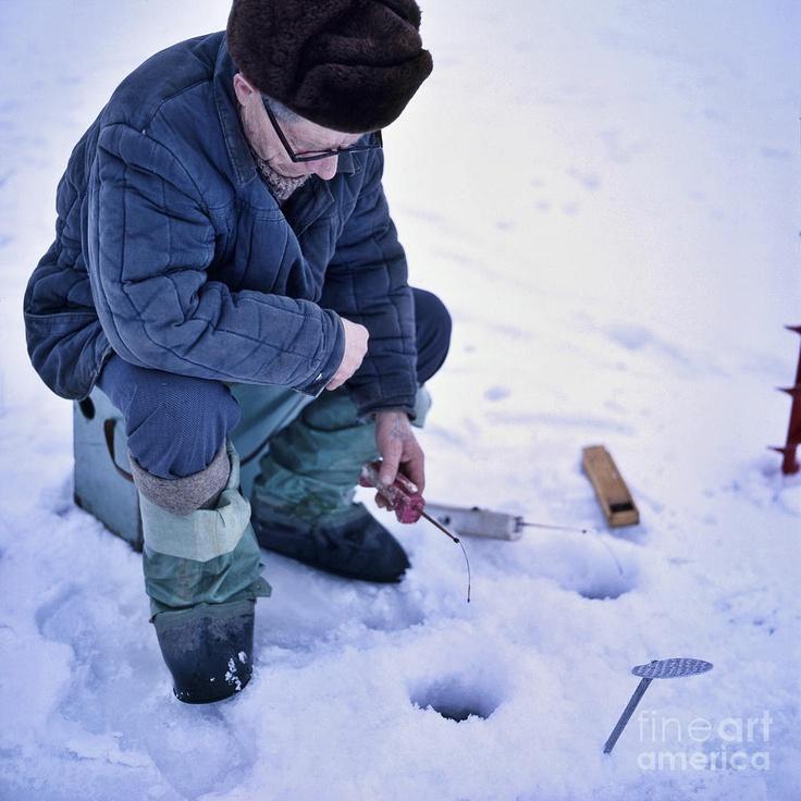 Новшество в зимней рыбалке
