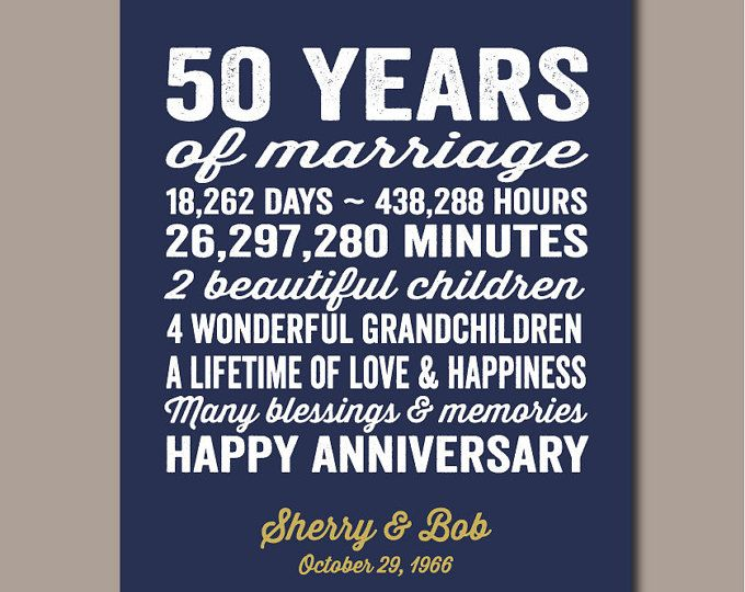 50 Year Wedding Anniversary Gift Ideas For Parents: Best 25+ 50th Wedding Anniversary Gift Ideas On Pinterest
