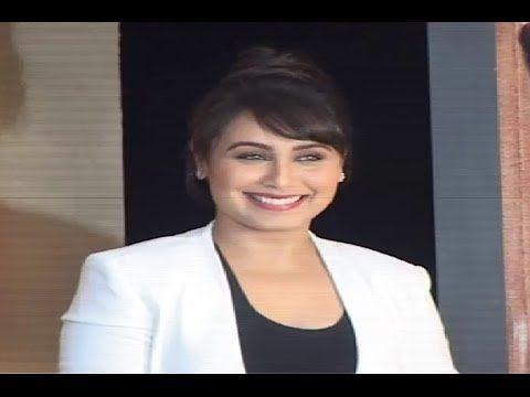 Rani Mukerji STUNNING @ MARDAANI movie's trailer launch.