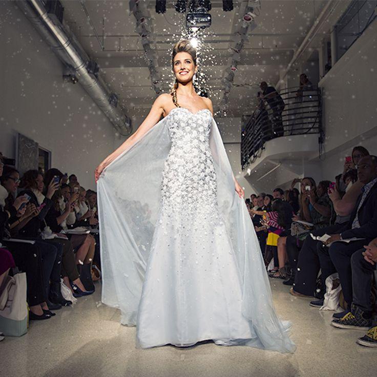 89 best images about elsa frozen dress on pinterest for Walt disney wedding dress