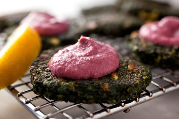 Recipe: Swiss chard fritters || Photo: Andrew Scrivani for The New York Times