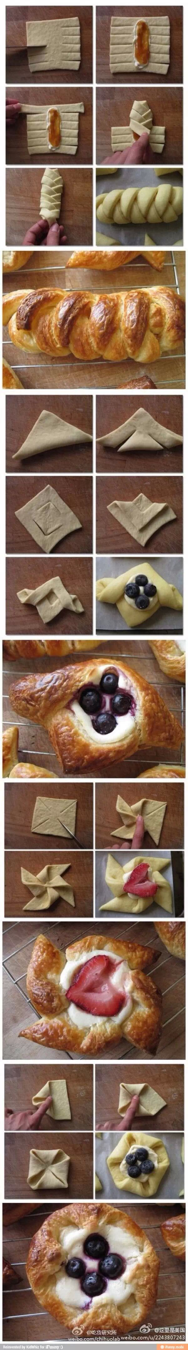Ways to good pastries!