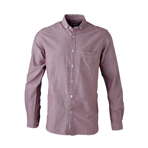 Skjorter til mænd - Læææækker skjorte i bosa nova rød