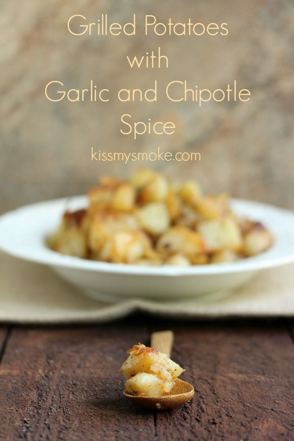 Patatas a la plancha con ajo y especias Chipotle | Bese mi Humo