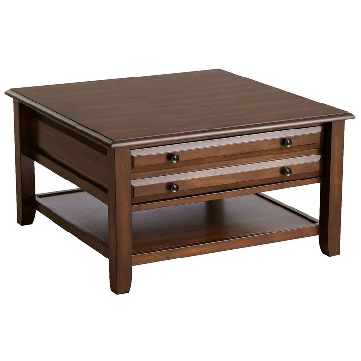 anywhere square coffee table tuscan brown pier 1. Black Bedroom Furniture Sets. Home Design Ideas