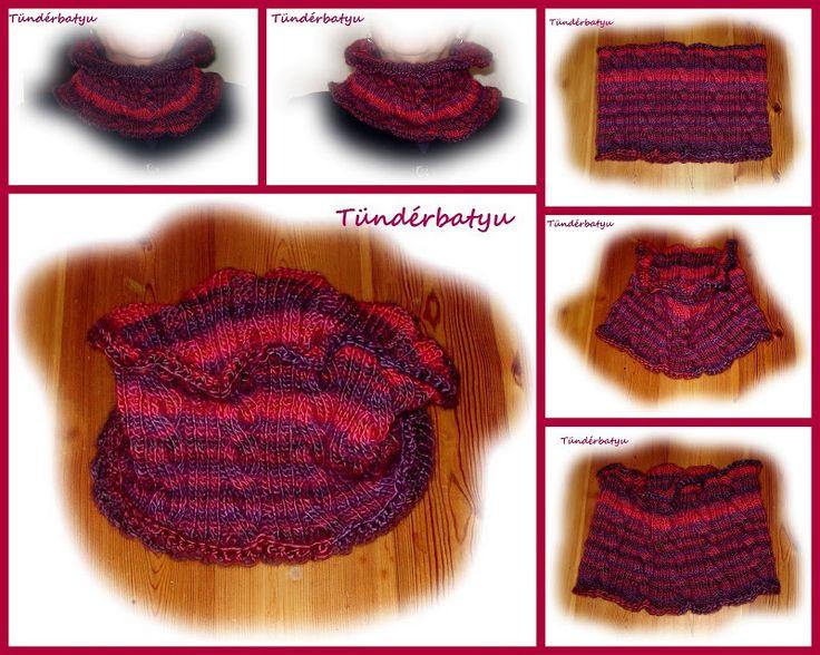 knitted circle scarf https://www.facebook.com/tunderbatyu