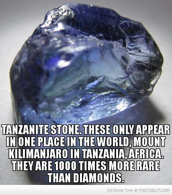 The reason why I buy Tanzanite jewelry. Oh and because I love the color of this gem!