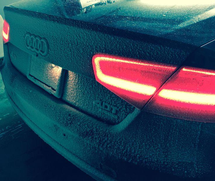 My 2014 Audi A8 Loves the Snow! #Audi #cars #car #quattro