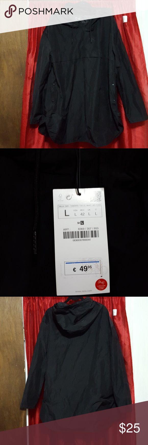 ZARA MAN HOODED PULLOVER PARKA ZARA MAN HOODED pocketed PULLOVER PARKA Zara Man Jackets & Coats Windbreakers