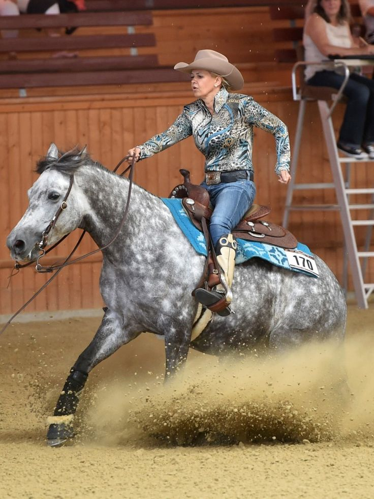 Corinna Schumacher, a strong woman who masters her fate. #StrongWoman #Horse #CorinnaSchumacher
