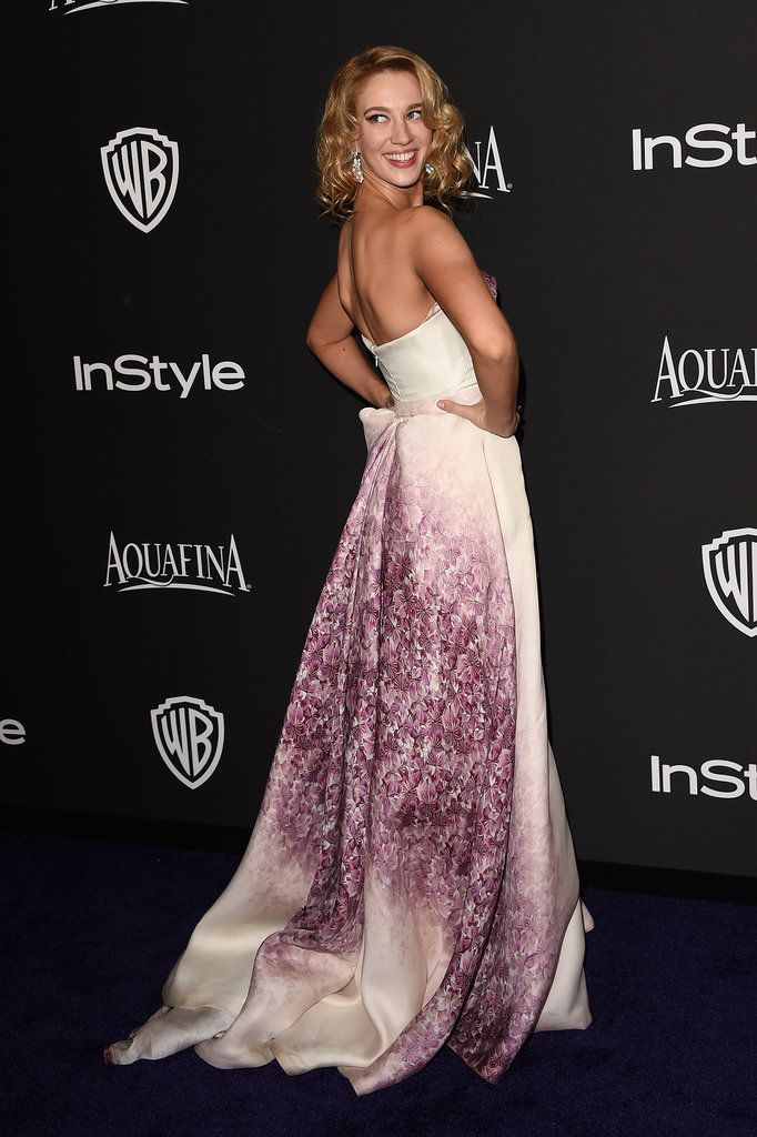 Even More Breathtaking: Your Favorite Golden Globes Dresses From Behind