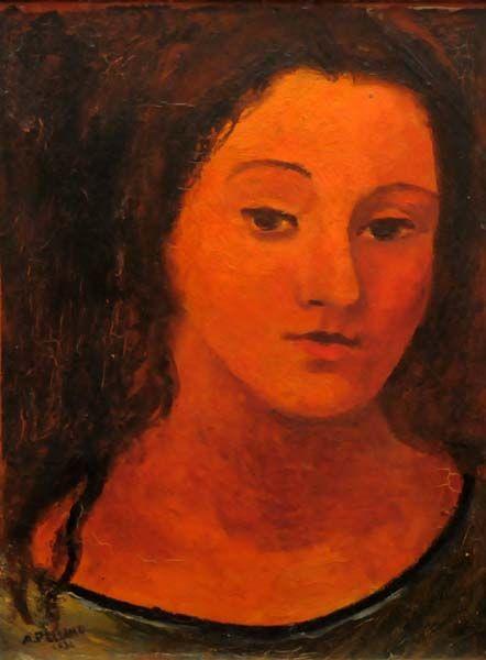 Alfred PELLAN - Tête de femme (1931)