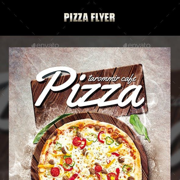 Pizza Flyer Flyer Templates from GraphicRiver