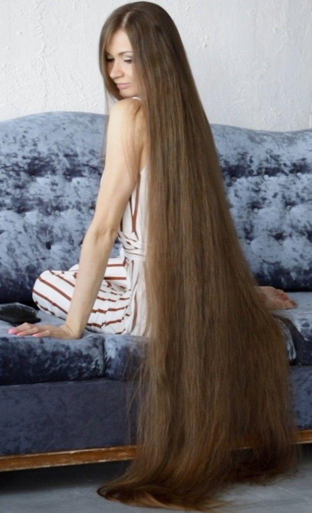 Video The Sofa Long Hair Models Long Hair Women Long