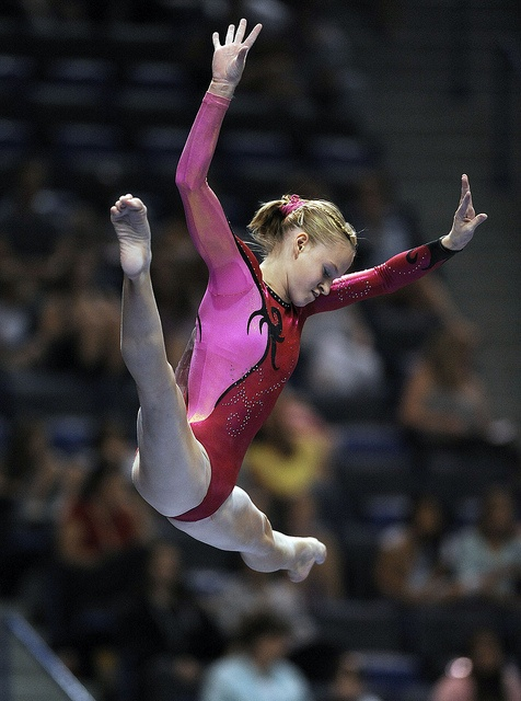 Abigail Milliet competes in the 2010 Visa Gymnastics Championships at the XL Center in Hartford, Conn., on Saturday, August 14, 2010. 0815_S_visagymnastics8478 by newspaper_guy Mike Orazzi, via Flickr   gymnastics, gymnast