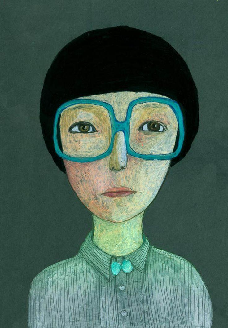 portrait with glasses - Jenny Meilihove - www.mytinydream.com