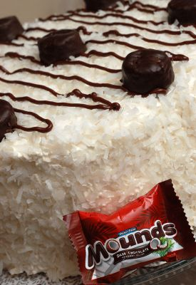 Sugar & Spice by Celeste: Mounds Bar Cake - Heaven on a Plate!!!