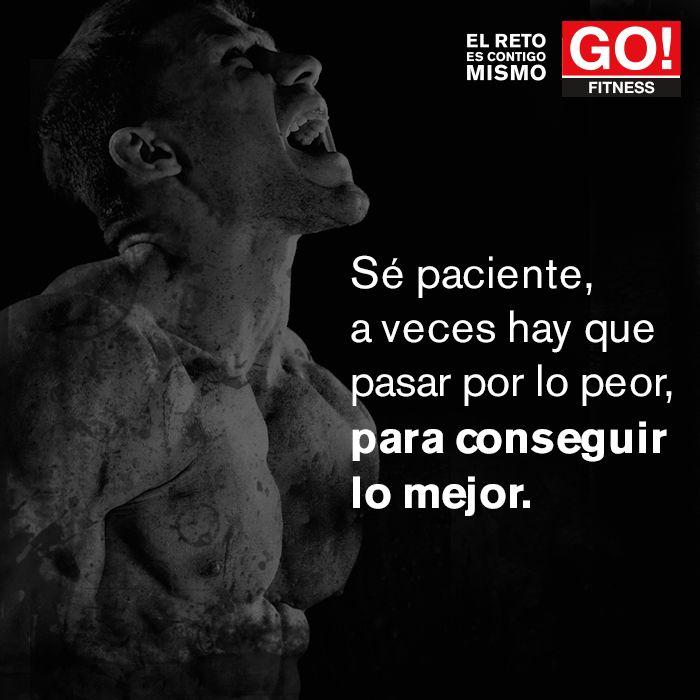 Conseguir lo mejor... #gofitness #clasesgo #ejercicio #gym #fit #fuerza #flexibilidad #reto #motivate