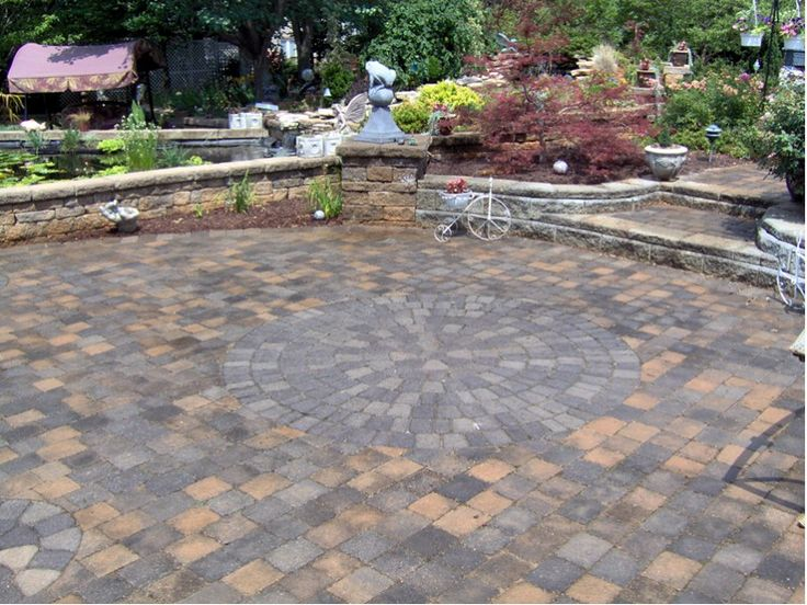 Must See Collection Of 100 Patio Designs Pictures And Ideas Featuring A  Wide Variety Of Brick And Stone Styles, Shapes And Sizes, Covered And  Uncovered ...