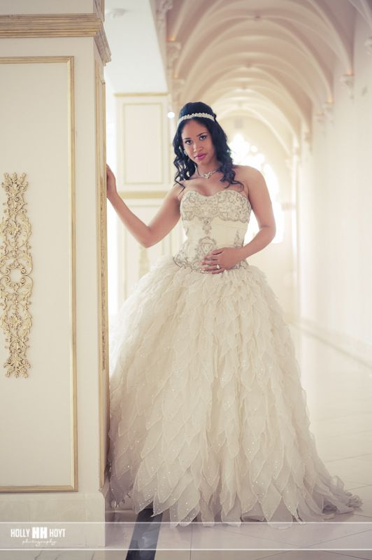 "Priscilla of Boston Leaves - (""Platinum"" Collection), $2,700 Size: 8   Used Wedding Dresses"