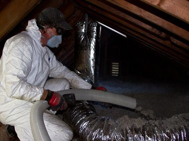 What is cellulose fiber insulation made from? What chemicals is it treated with? Does it attract fungi and bacteria? Cellulose fiber insulation r-values...
