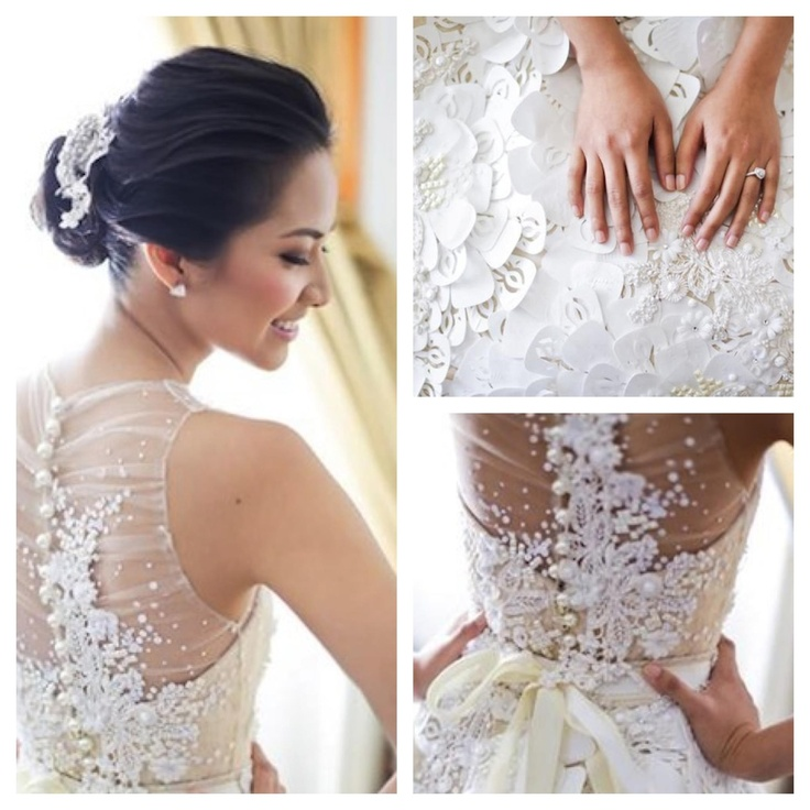 49 best Veluz images on Pinterest | Short wedding gowns, Wedding ...