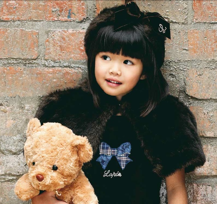 chic furry look & teddy bear by Lapin House ! http://www.lapinhouse.com/en/impressions.html