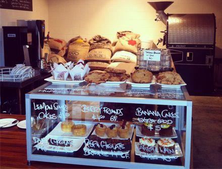 famous in Wellington salted caramel cookies - Leeds Street Bakery, tucked away down Leeds Street, in between Ghuznee and Dixon Streets