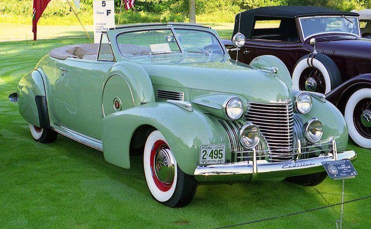 Cadillac-Convertible von 1940 – Klassiche Cadillac Auto