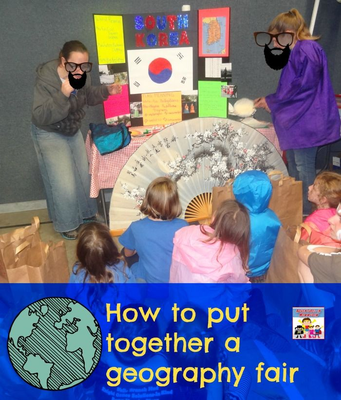 A geography fair can be a great way for kids to learn about different countries. Here's some tips on putting together a geography fair.