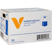 the Vitamin Shoppe Iceland Natural Spring Water 16.9 F - (24 Drinks) - Water