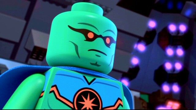 Martian Manhunter- Lego Justice League: Attack of the Legion of Doom