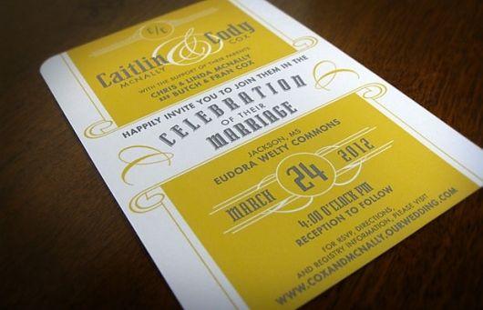 Caitlin and Cody's Wedding: Invitation :: IAN R. HANSON