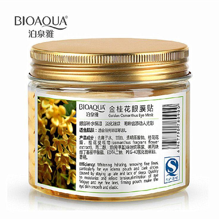 $4.00 (Buy here: https://alitems.com/g/1e8d114494ebda23ff8b16525dc3e8/?i=5&ulp=https%3A%2F%2Fwww.aliexpress.com%2Fitem%2F80-pcs-bottle-BIOAQUA-Gold-Osmanthus-eye-mask-women-Collagen-gel-whey-protein-face-care-sleep%2F32592920903.html ) 80 pcs/ bottle BIOAQUA Gold Osmanthus eye mask women Collagen gel whey protein face care sleep patches health mascaras de dormir for just $4.00