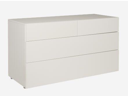 PEROUSE commode laquée 4 tiroirs prix promo Habitat 950.00 € TTC