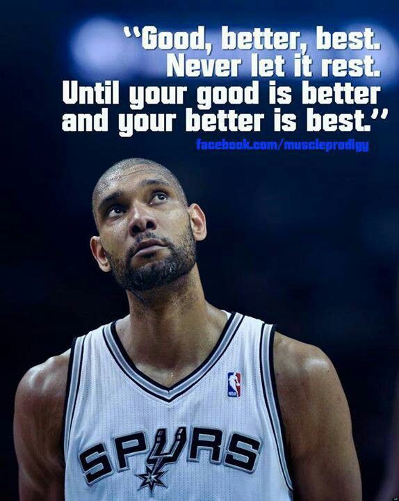 Love This Tim Duncan Quote =-= Love The Spurs !! <3