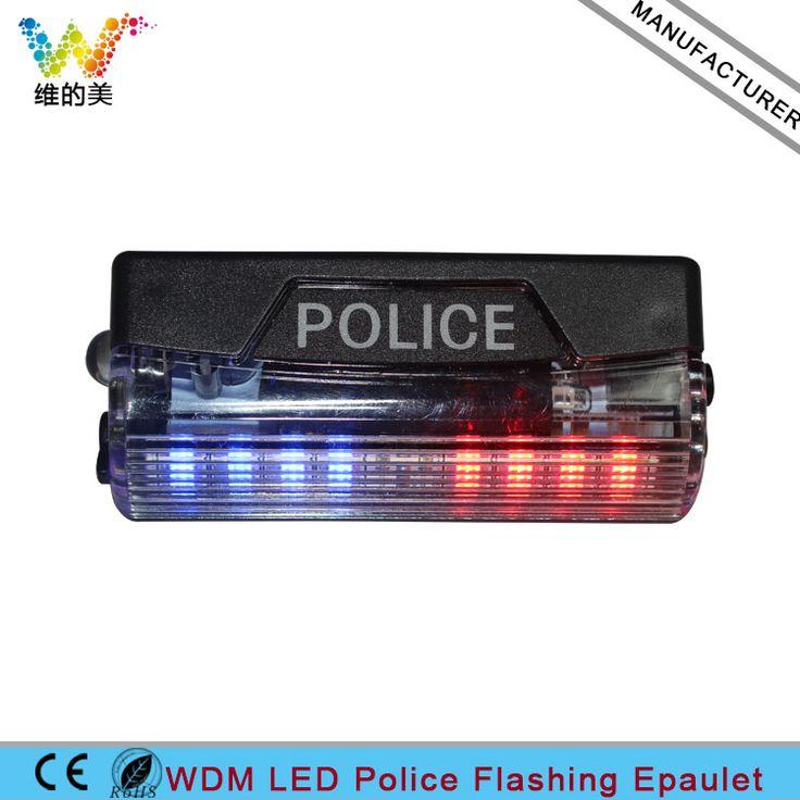 Rechargeable Safeguard WDM LED Flashing Epaulet Police Duty Light #Affiliate