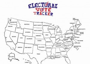 Best Electoral College Map Ideas Only On Pinterest - Map of us without electoral college 2016