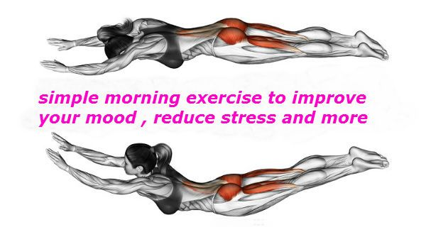 Practice This Morning Exercise To Improve Your Mood, Reduce Stress, and More