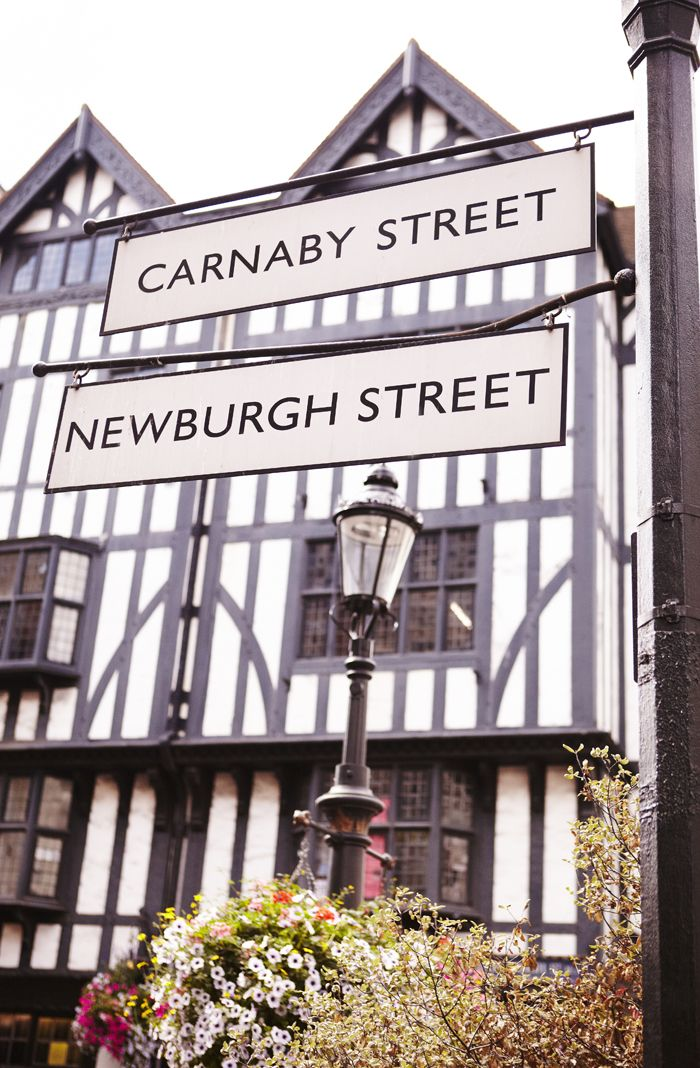 Stop off at Carnaby Street for the best cafes, shops and, of course, a trip to the Liberty store #LFW #LondonFashionWeek