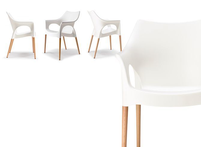 Poltrona Natural Ola sedie moderne - sedute