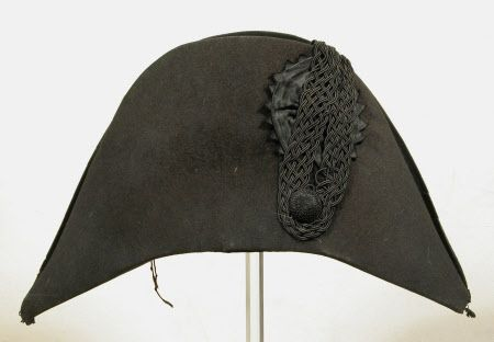 Opera hat National Trust Inventory Number 1349882 Date 1775 - 1825 Collection Snowshill Wade Costume Collection, Gloucestershire (Accredited Museum)
